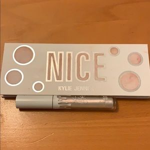 Kylie cosmetics nice eyeshadow palette & lipgloss
